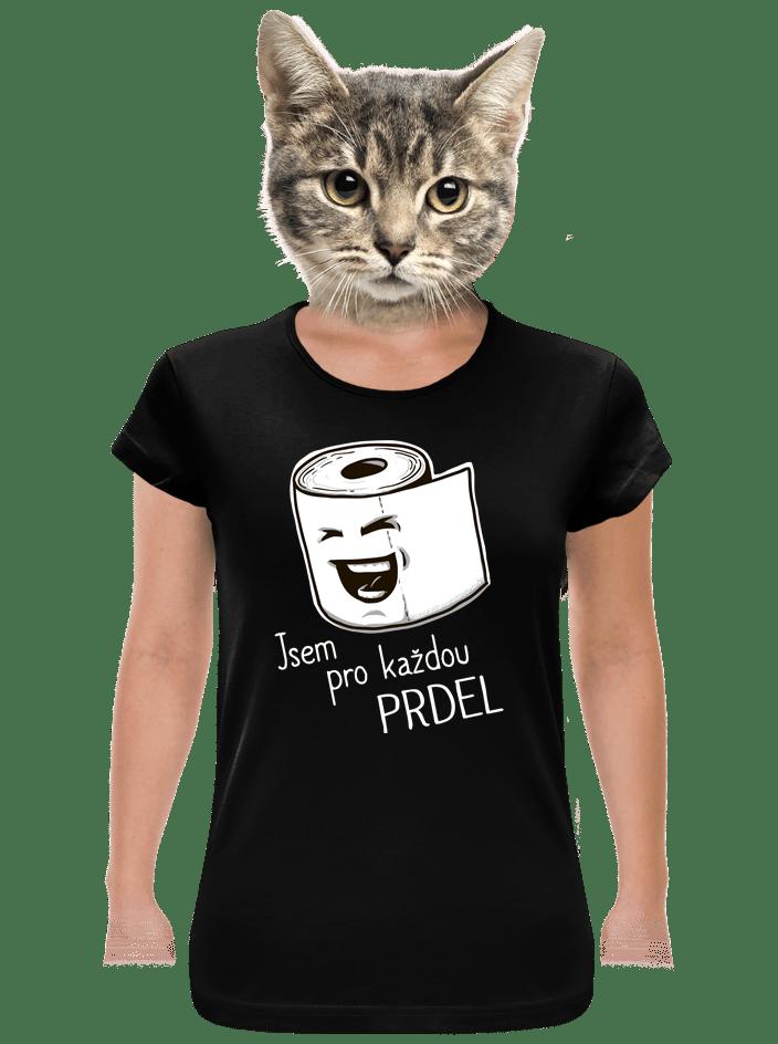 Prdel dámske tričko