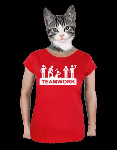 Flákači dámske tričko