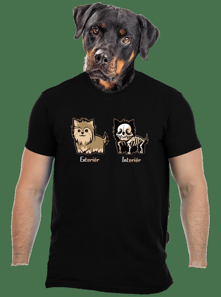 Teriér pánske tričko