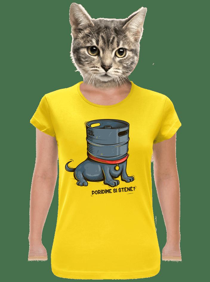 Štěně dámske tričko