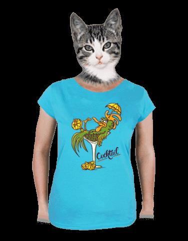 Cocktail dámske tričko