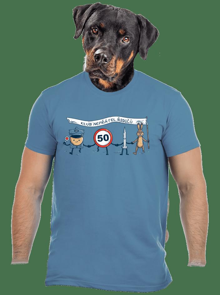 Nepřátelé řidičů pánske tričko