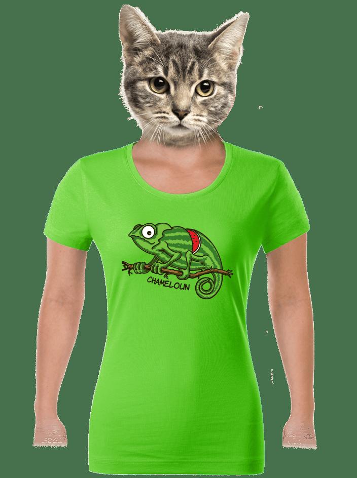Chameloun dámske tričko