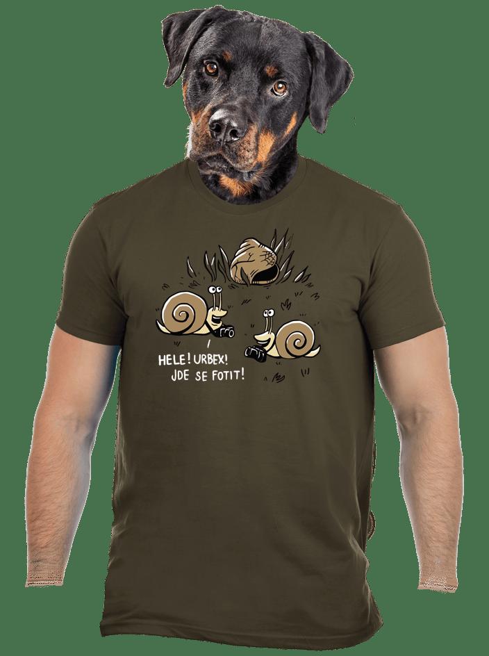 Urbex pánske tričko