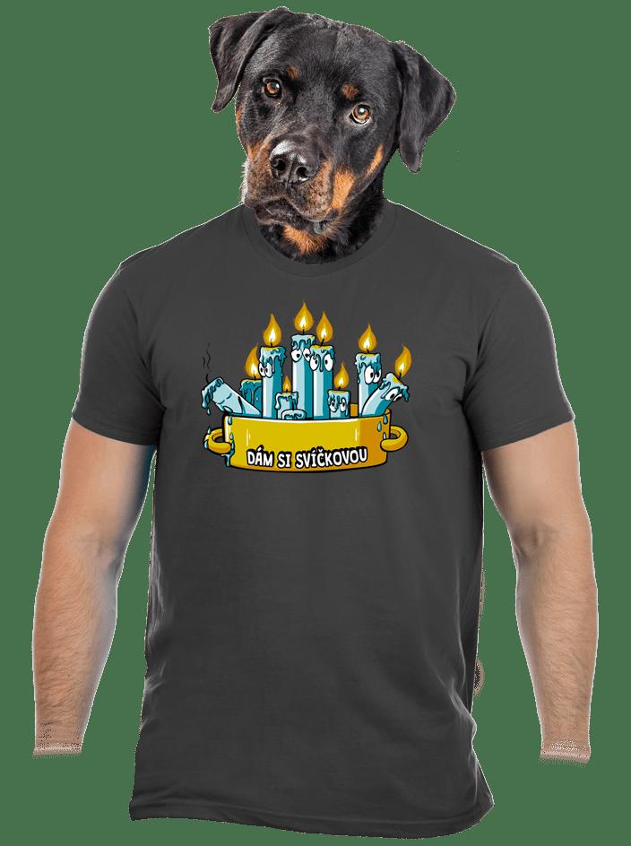 Svíčková pánske tričko