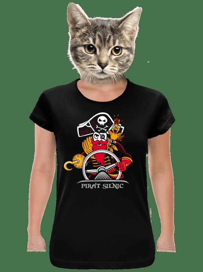 Pirát silnic dámske tričko