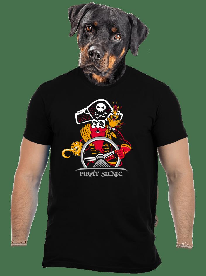 Pirát silnic pánske tričko