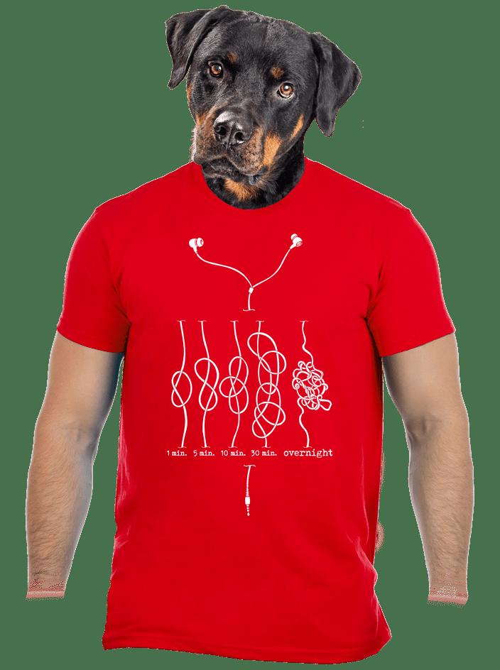 Škola uzlovania pánske tričko