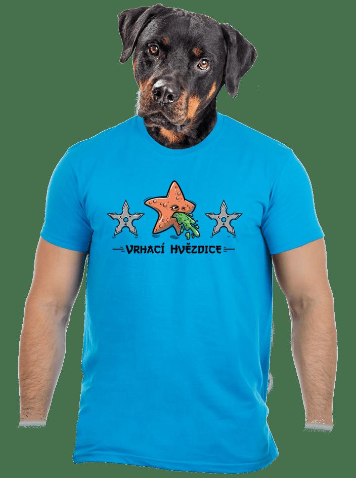Vrhací hvězdice pánske tričko