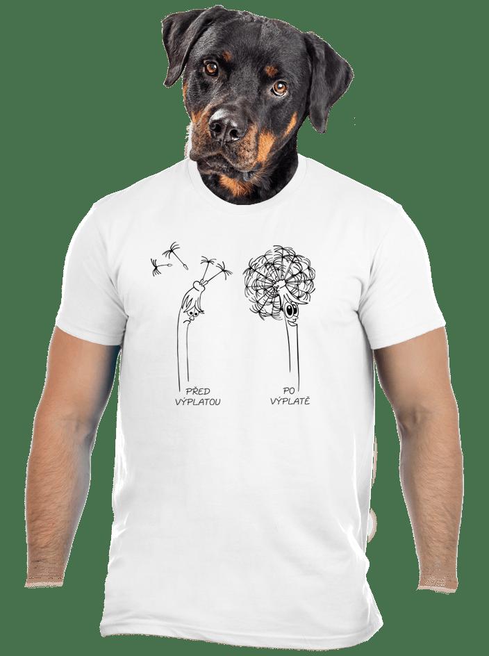Výplata pánske tričko