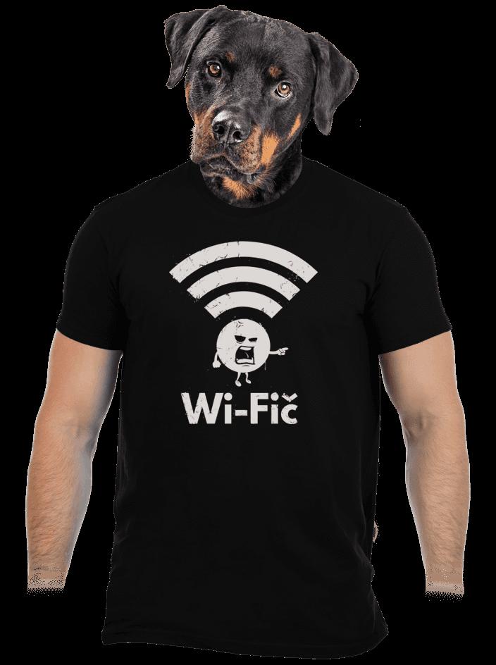 Wifič pánske tričko