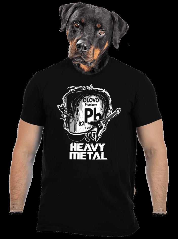 Heavy Metal pánske tričko