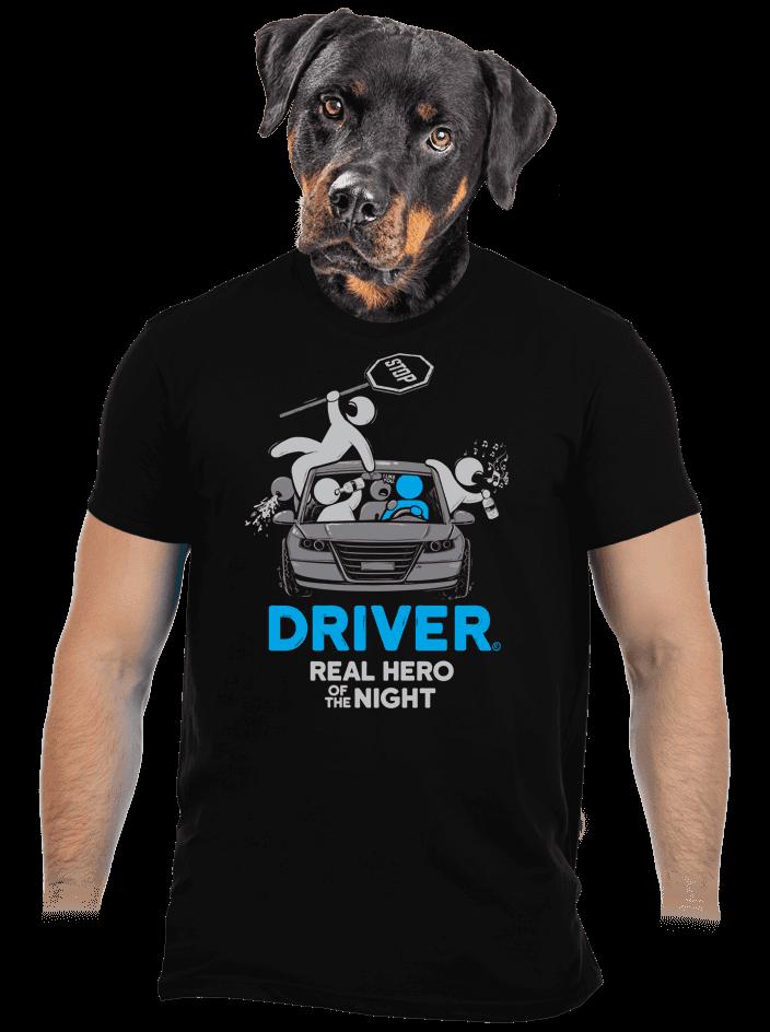 Driver pánske tričko