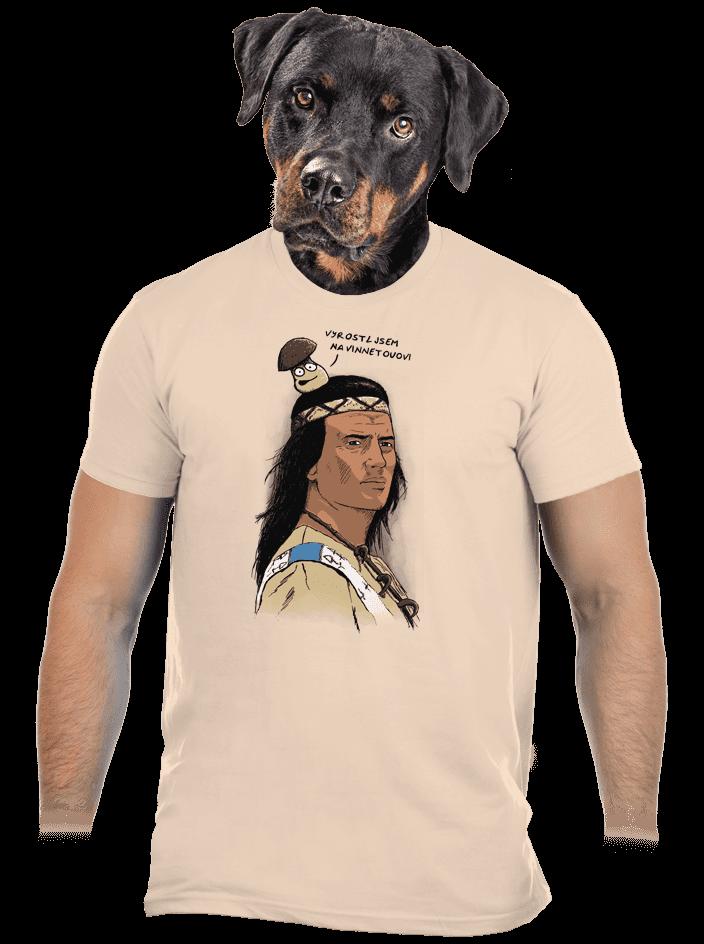 Vinnetou pánske tričko