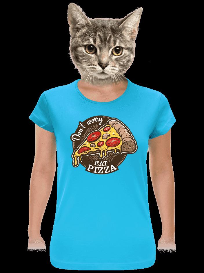 Pizza dámske tričko