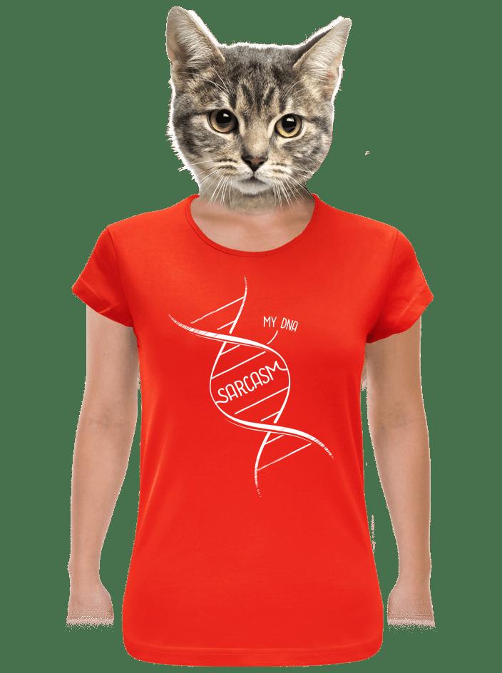Sarcasm dámske tričko