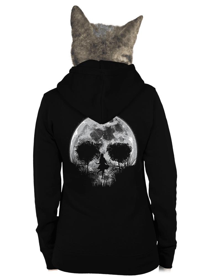 Smrtiaci spln dámska mikina – chrbát