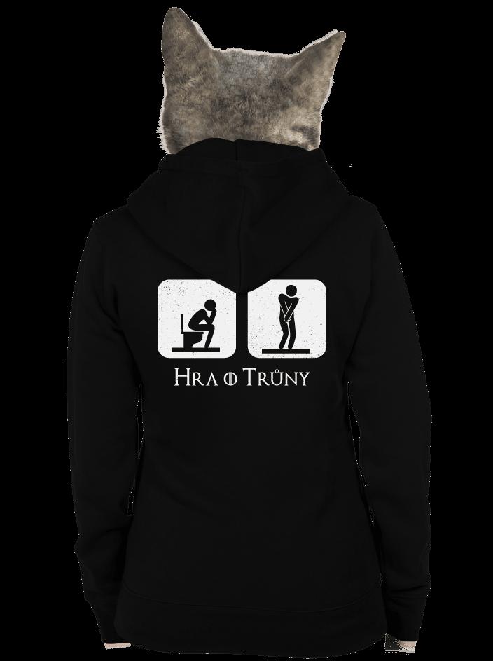 Hra o trůny dámska mikina – chrbát