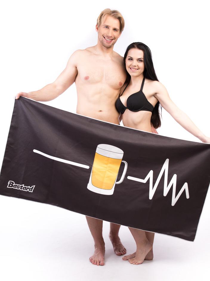 Beer Help rýchloschnúca osuška