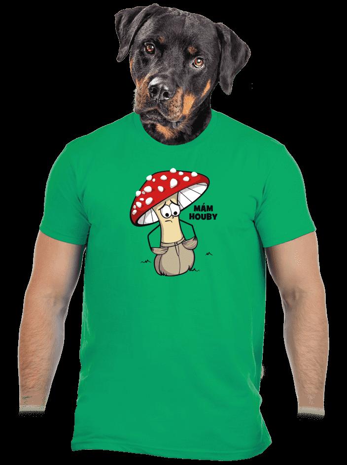 Mám houby pánske tričko