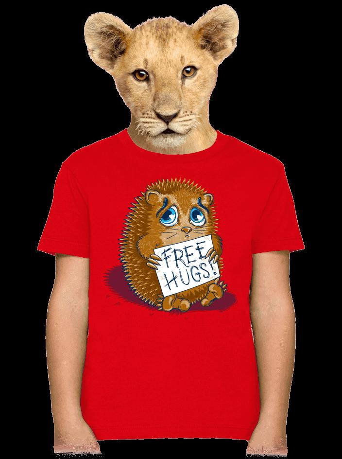 Objatie zadarmo detské tričko