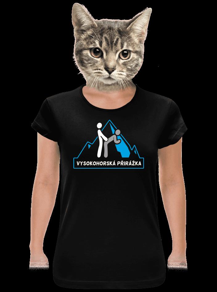Vysokohorská přirážka dámske tričko