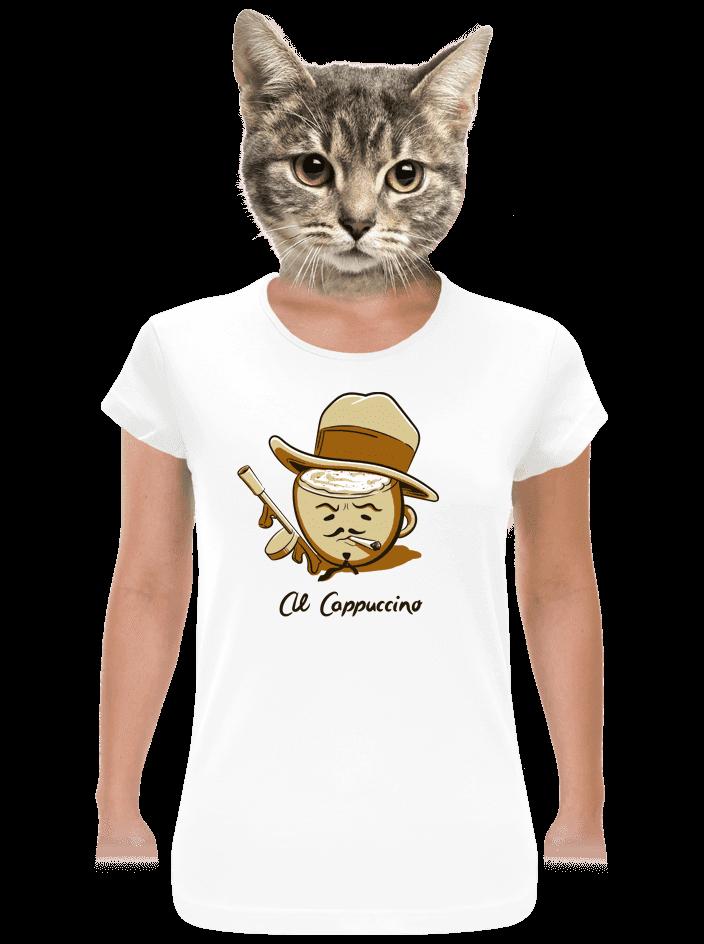 Al Cappuccino dámske tričko