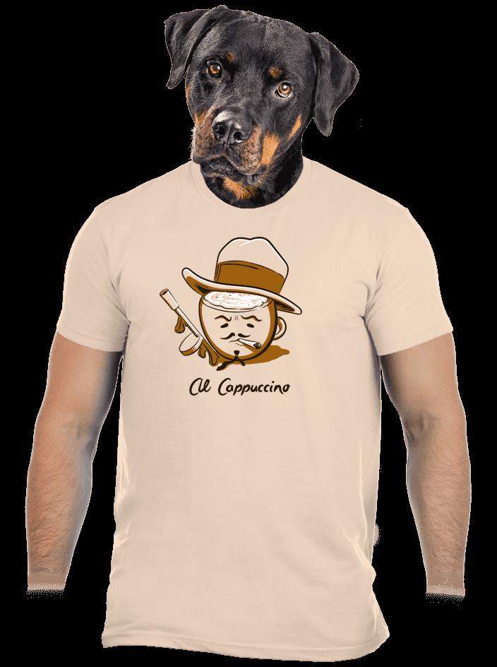Al Cappuccino pánske tričko