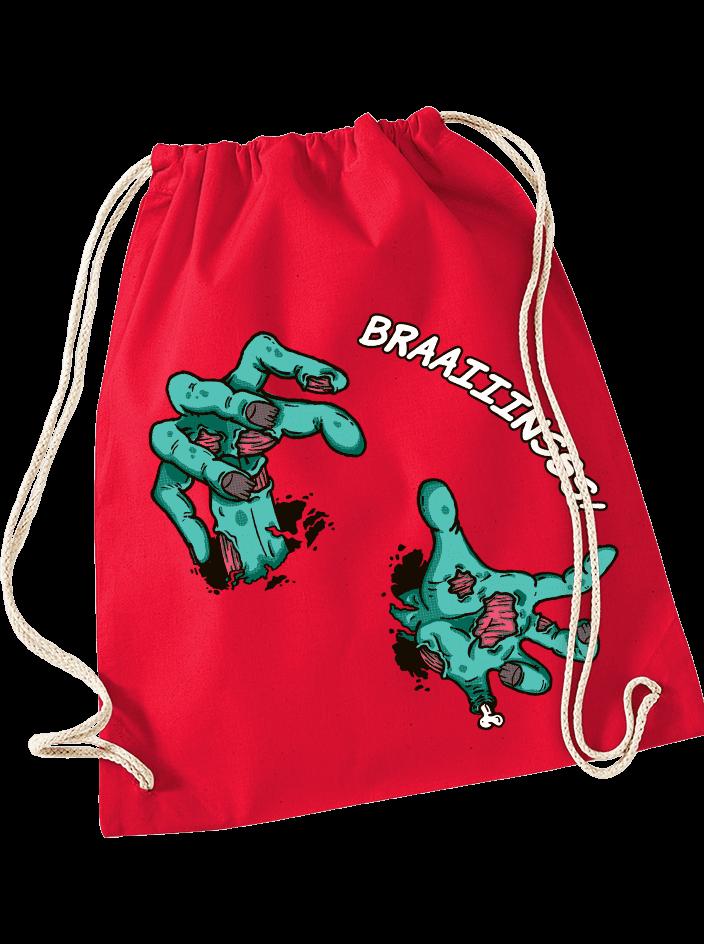 Brains červený vak na chrbát