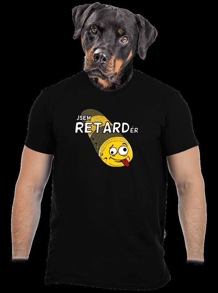 Retardér pánske tričko