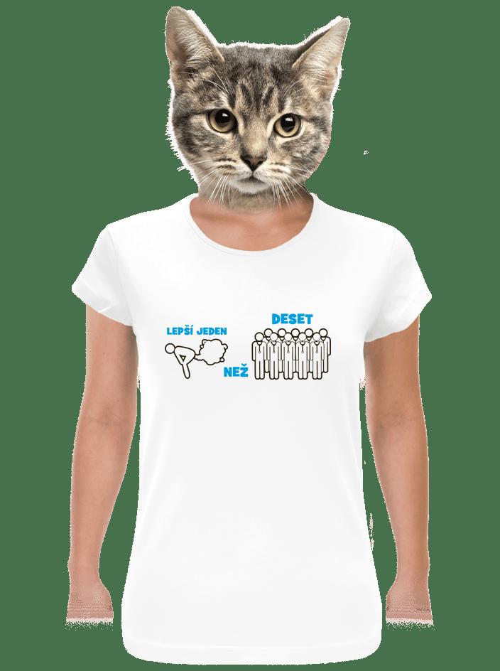 Jeden prd dámske tričko