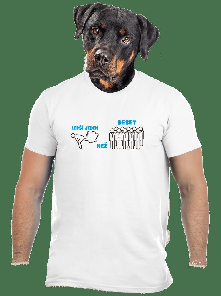 Jeden prd pánske tričko