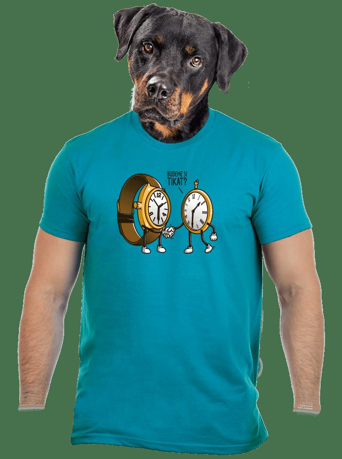 Tikání pánske tričko