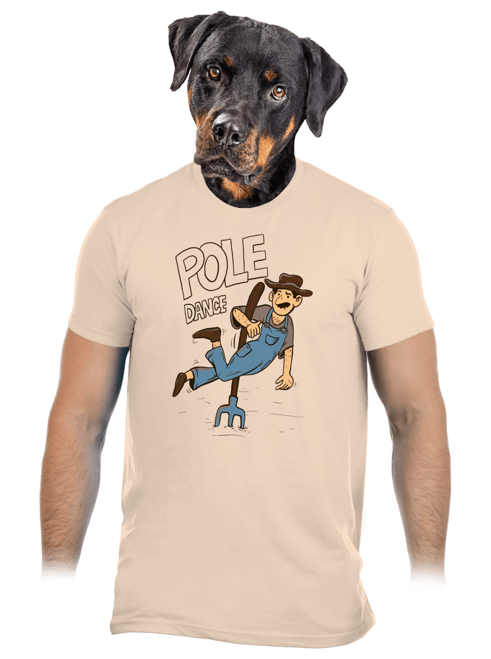 Pole Dance pánske tričko