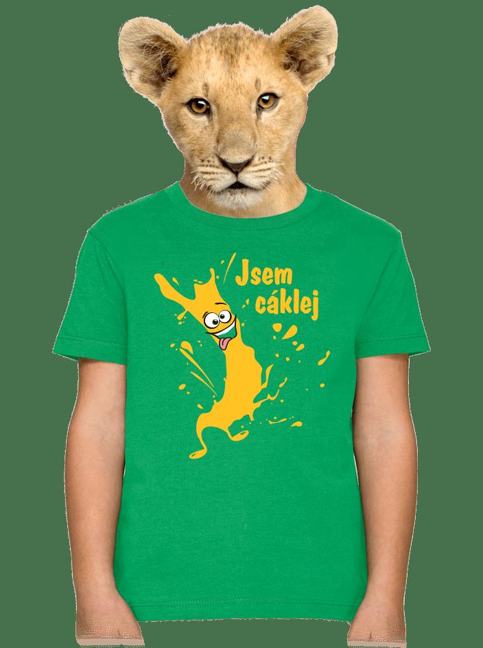 Cáklej detské tričko