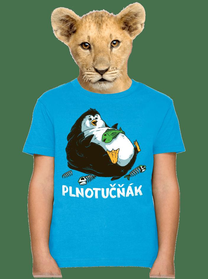 Plnotučňák detské tričko