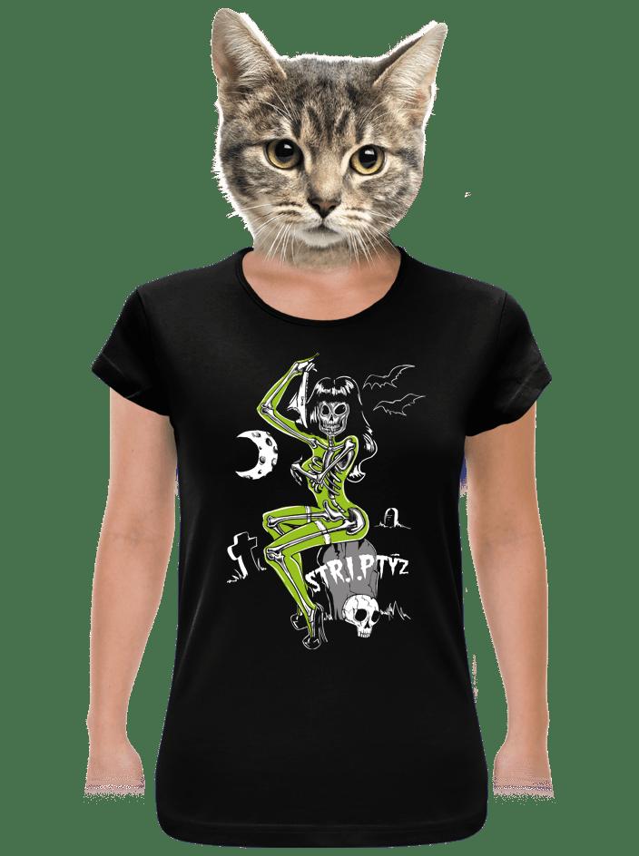 Striptíz dámske BIO tričko