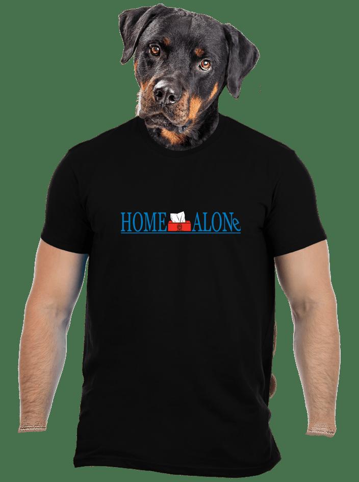 Sám doma pánske tričko
