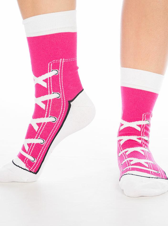 Hledám tu pravou fuchsiové ponožky