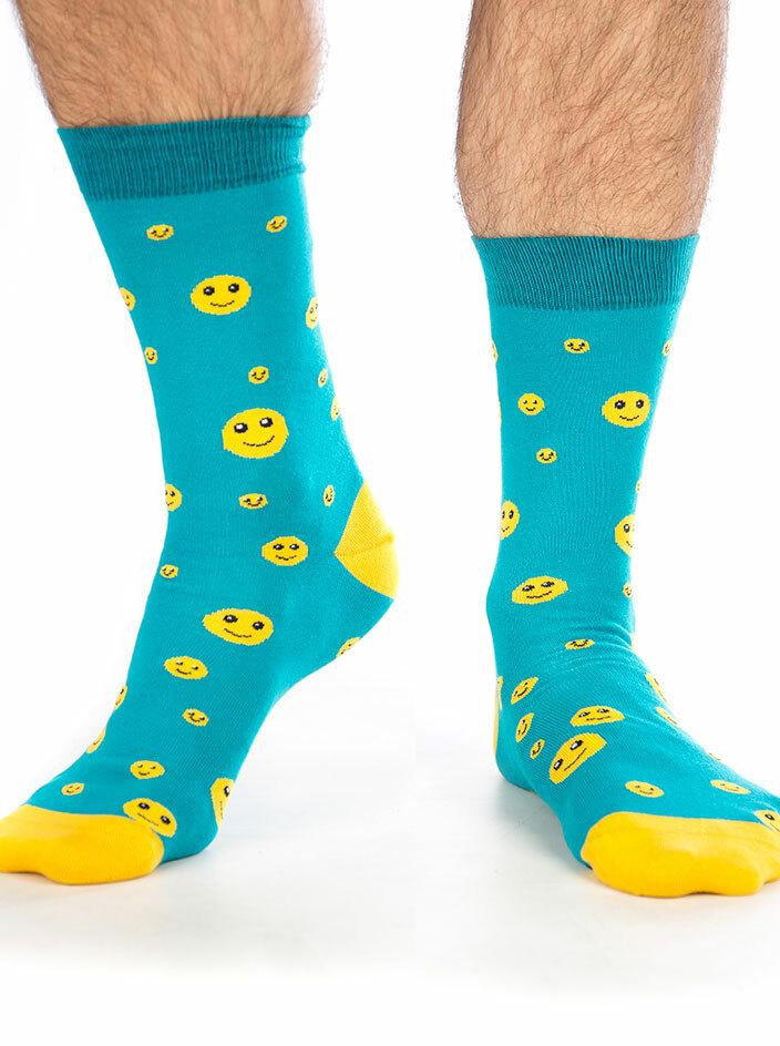 Smajlík veselý ponožky