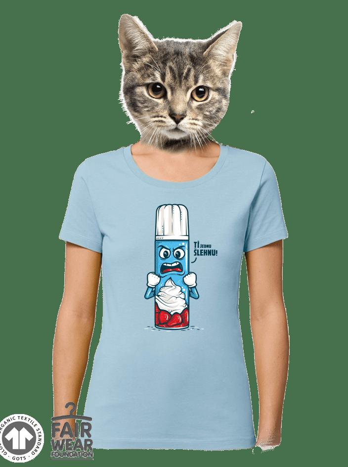 Ti šľahnem dámske BIO tričko
