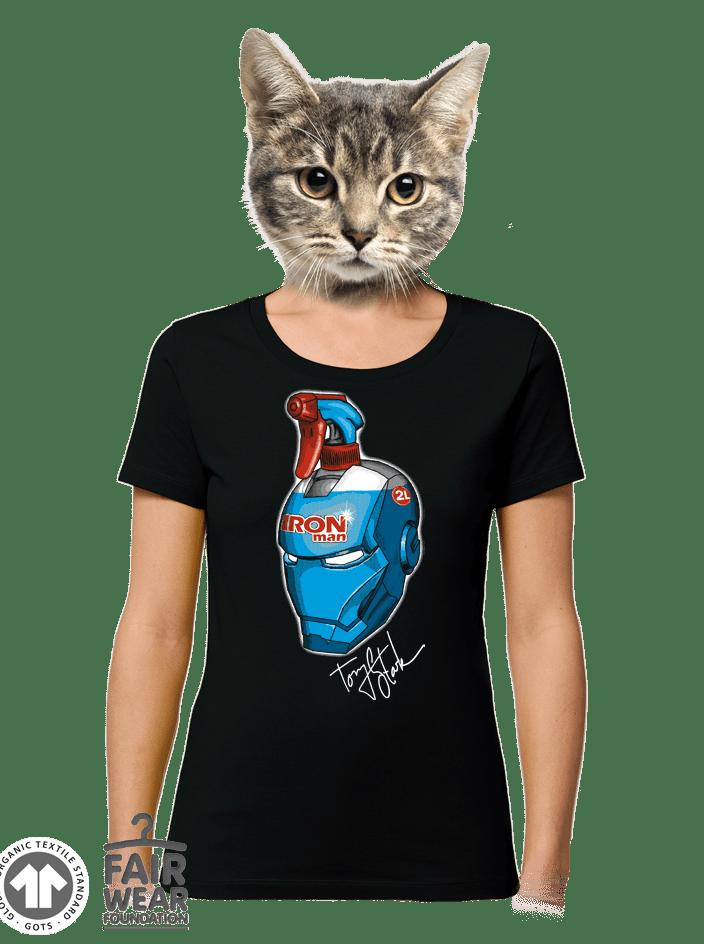 Čistič okien dámske BIO tričko