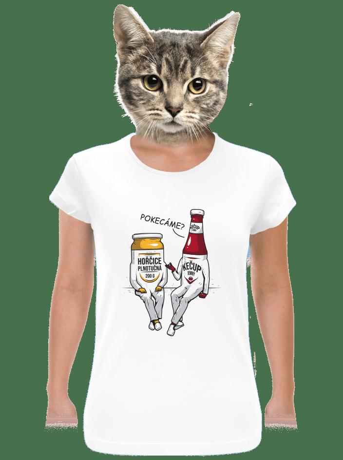 Pokecáme dámske tričko