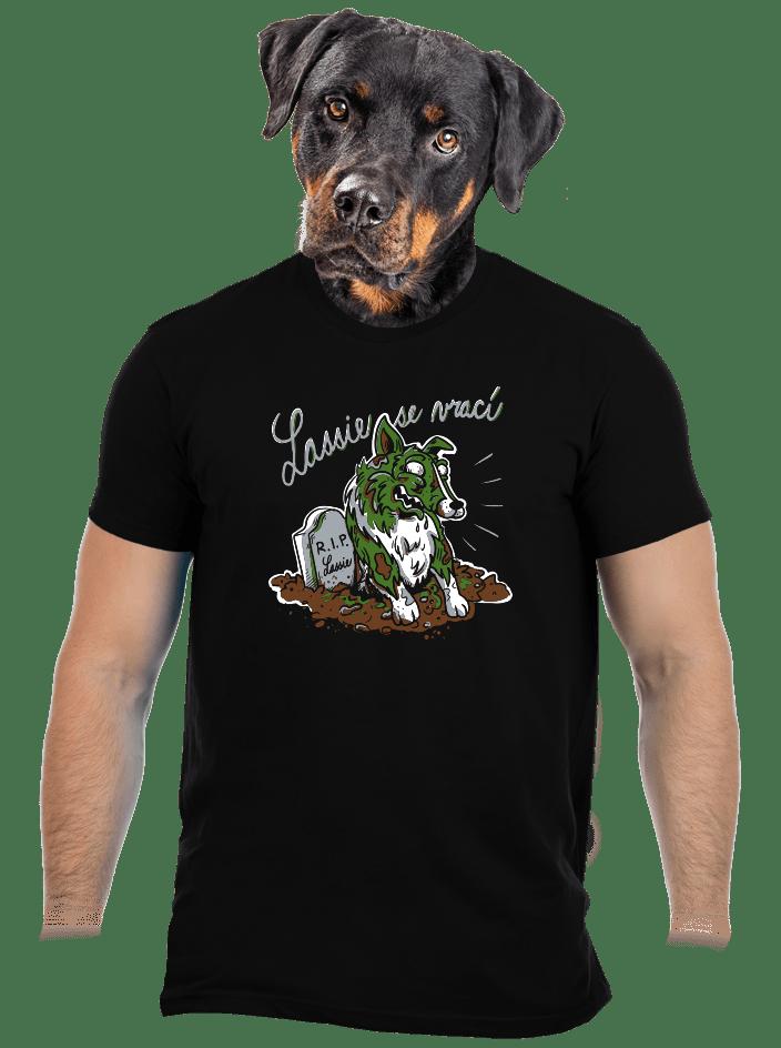 Lassie se vrací pánske tričko