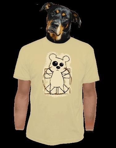 Da Vinci Teddy pánske tričko