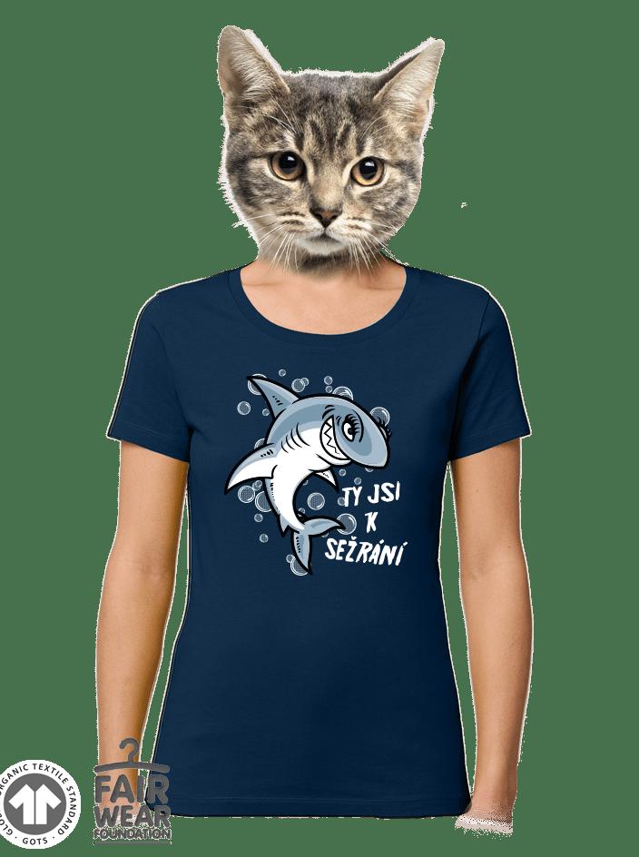 Žraločice dámske BIO tričko