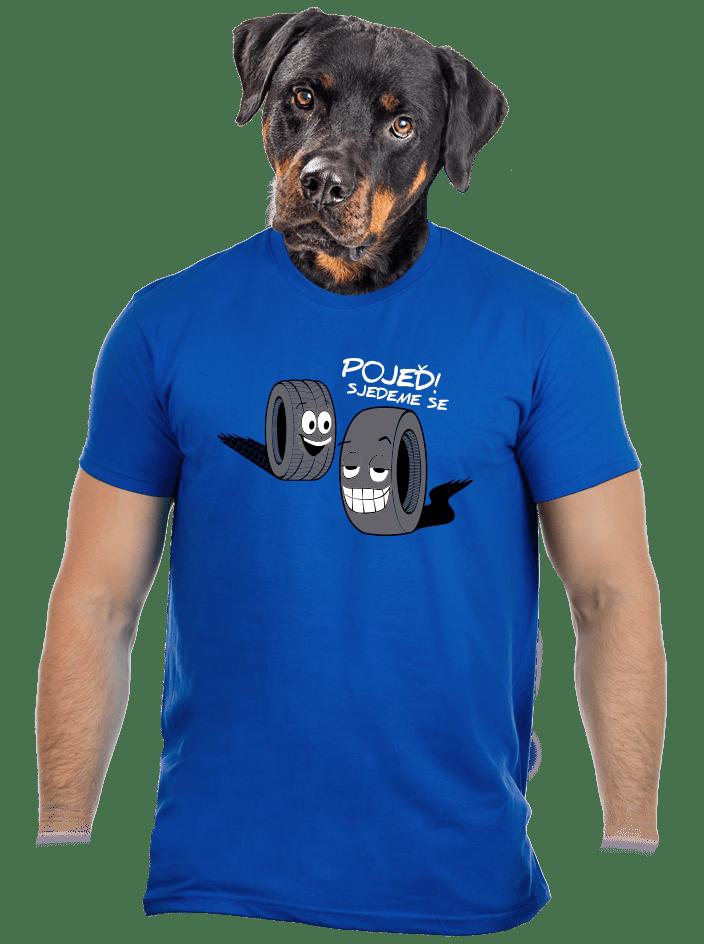 Pneumatiky pánske tričko