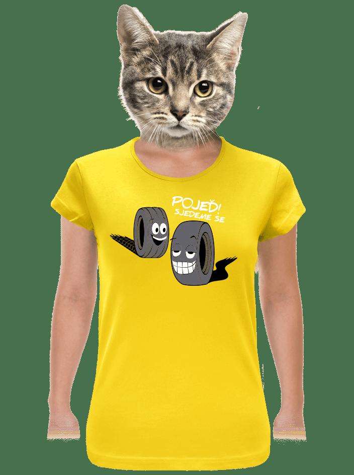 Pneumatiky dámske tričko