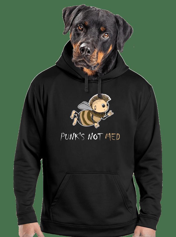 Punks Not Med pánska mikina