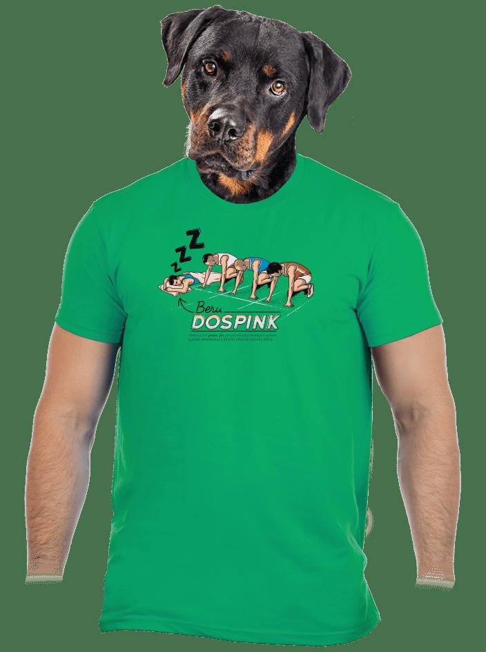 Dospink pánske tričko